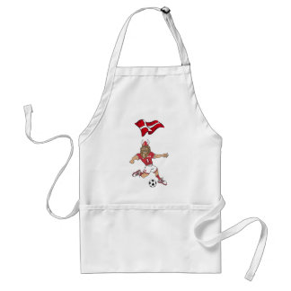 Danish Viking Soccer players tees and gifts Aprons