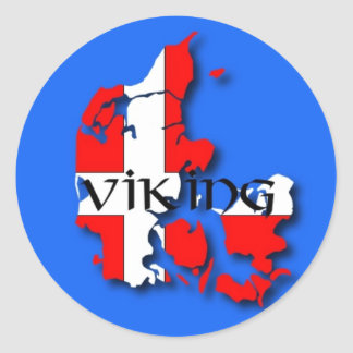Danish Viking Sticker
