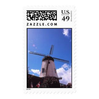 Danish Windmill, Solvang, California Postage