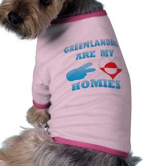 danishs are my Homies Dog T Shirt