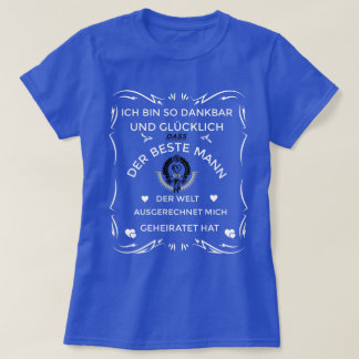 dankbarund happy - best husband of the world T-Shirt