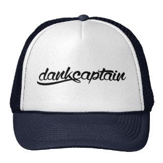 'dankcaptain' Logo Cap Trucker Hat