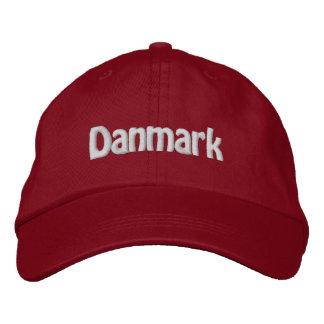 Danmark Gorra De Béisbol Bordada