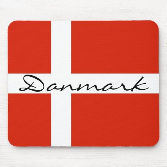 Danmark with Dannebrog Mouse Pad