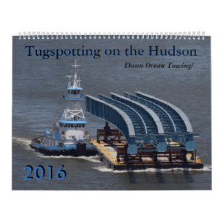 Dann Ocean Towing 2016 calendar