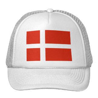 Dannebrog; La bandera oficial de Dinamarca Gorras De Camionero