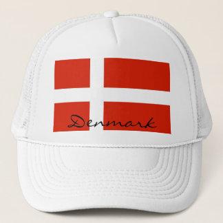 Dannebrog, National Flag of Denmark Trucker Hat