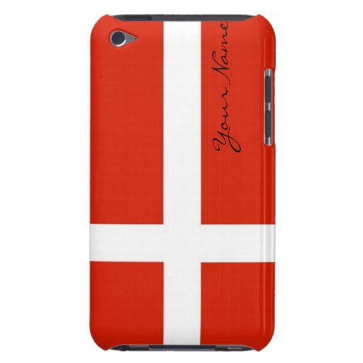 Dannebrog; The Official Flag of Denmark iPod Touch Case