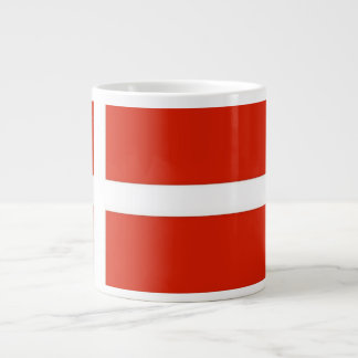 Dannebrog; The Official Flag of Denmark Giant Coffee Mug