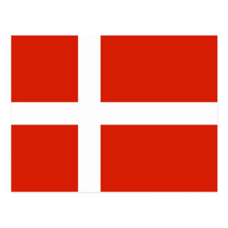Dannebrog; The Official Flag of Denmark Postcard