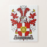 Dannemand Family Crest Puzzle