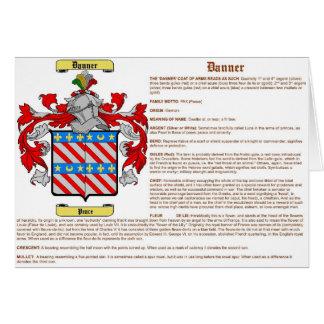Danner (significado) tarjeta de felicitación