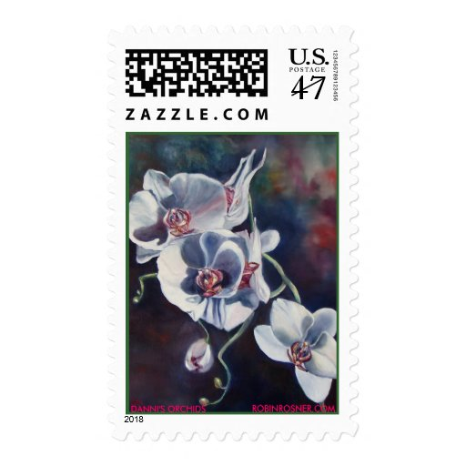 DANNI'S ORCHIDS, ROBINR... - Customized Stamp