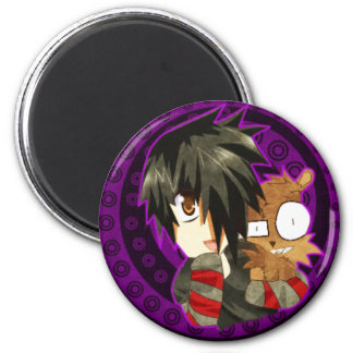 danny and teddy remake 2 inch round magnet