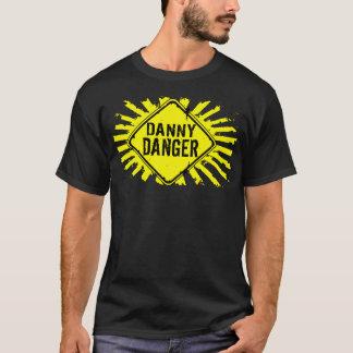 Danny Danger Yellow Splatter T-Shirt! T-Shirt
