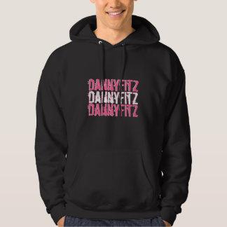 danny fitz 3 times pink hoodie