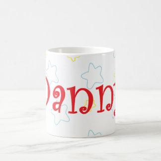 Danny Happy Stars Name Coffee Mugs