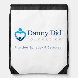 Danny hizo el bolso de lazo - blanco mochila
