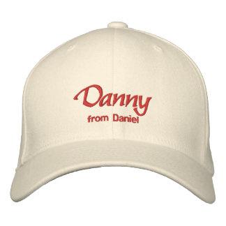 Danny Name Cap Hat Embroidered Baseball Cap
