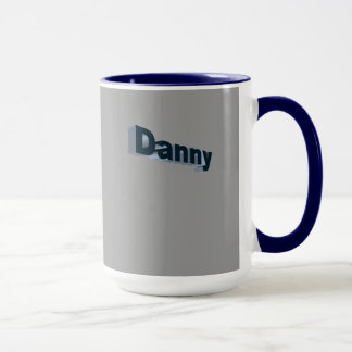 Danny ringer style tea mug