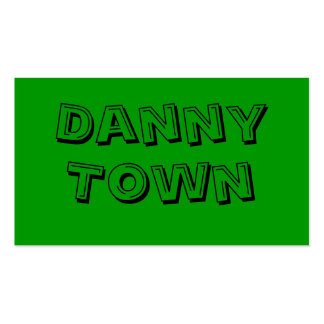 Danny, Town Business Card