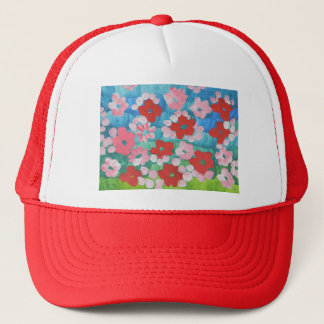 Dannysylee The Blossoming Flowers Trucker Hat