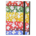 Dannysylee The White Flowers iPad Air Case Cover For iPad Air