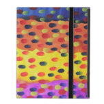 Dannysylee The World of The Dots 4-3 iPad Case Cover For iPad