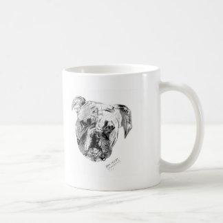 Dano la taza del perro del boxeador