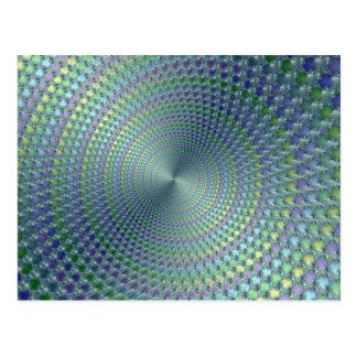 Daños de la cabeza - postal del fractal
