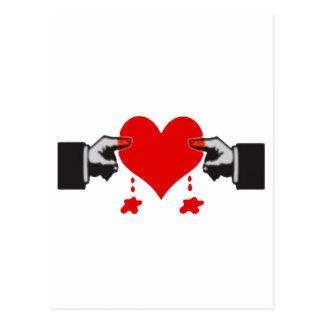 Daños del amor postales