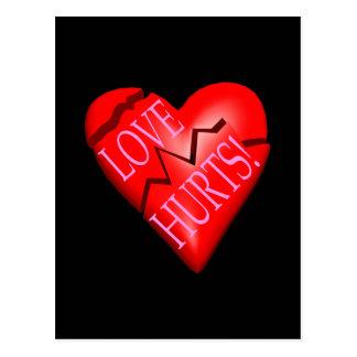 Daños del amor postal