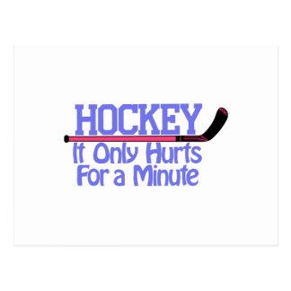 Daños del hockey postales