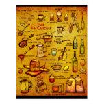 Dans La Cuisine - french vocab card