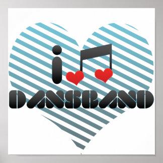 Dansband Poster