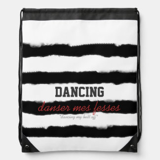 Danse Drawstring Drawstring Backpack