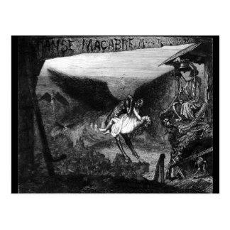 Danse macabre by Marcel Roux postcard