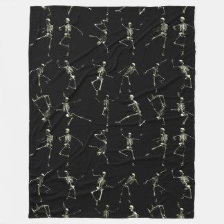 Danse Macabre Fleece Blanket
