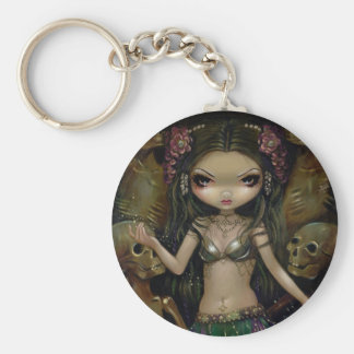 Danse Macabre Tribal Fusion Keychain