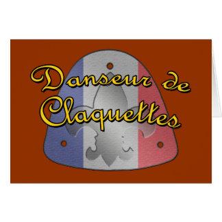 Danseur de Claquettes Card