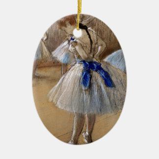 Danseuse (Dancer), Edgar Degas Christmas Tree Ornament