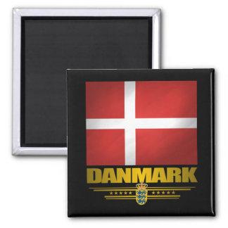 """""""Dansk Pride"""" 2 Inch Square Magnet"""