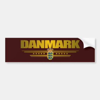 """Dansk Pride"" Bumper Sticker"
