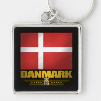 """Dansk Pride"" Keychain"