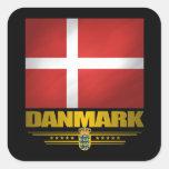 """Dansk Pride"" Square Sticker"