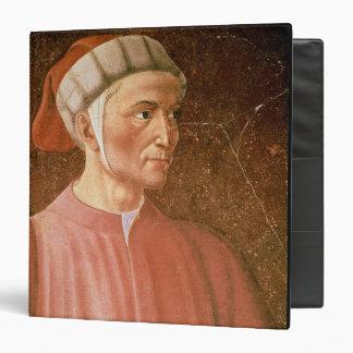 Dante Alighieri (1265-1321) detail of his bust, fr Vinyl Binder