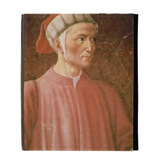 Dante Alighieri (1265-1321) detail of his bust, fr iPad Case