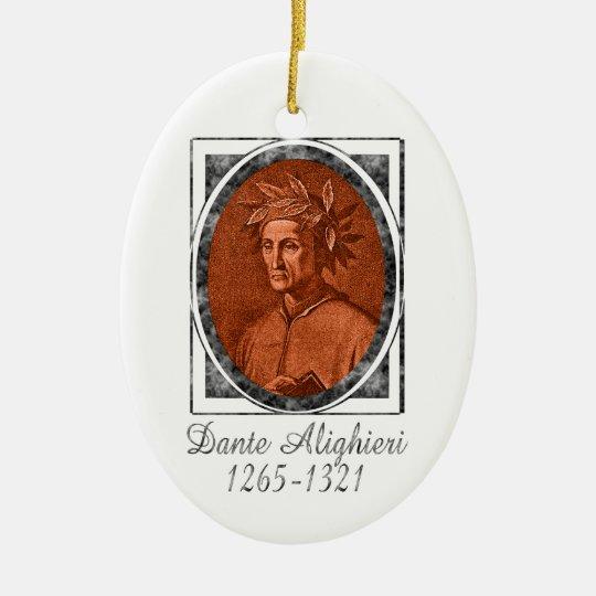 Dante Alighieri Ornament
