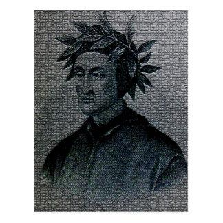 Dante Alighieri Portrait Post Card