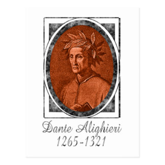 Dante Alighieri Postcard